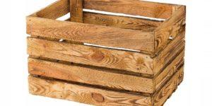 Skrzynki drewniane nowe, opalane i białe