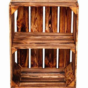 Skrzynka opalana z krótką półką 50 x 40 x 30