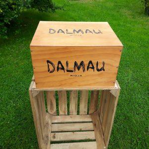 Skrzynka po winie – Dalmau- Hiszpania