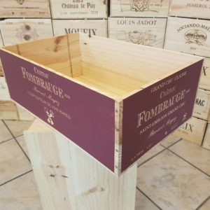 Skrzynka po winie – Fombrauge – Francja