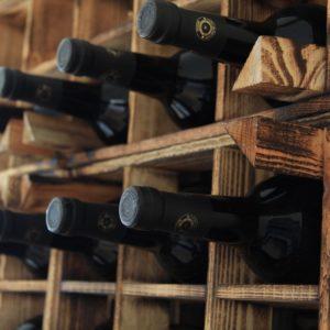 Regał na wino ( 6 butelek)