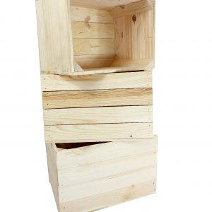 Skrzynka drewniana nowa jedynka MAŁA 39x28x25,5 cm