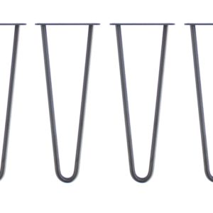 HAIRPIN LEGS metalowa noga stołu 41 cm