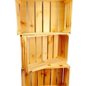 """Skrzynka drewniana nowa """"uniwersalka"""" 60x40x20 cm"""