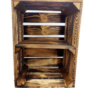 Skrzynka opalana z półką 39 x 29 x 24