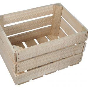 Skrzynka drewniana nowa 39 x 29 x 24 cm