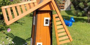 Wiatraki drewniane