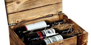 Skrzynki, regały do przechowywania i ekspozycji wina