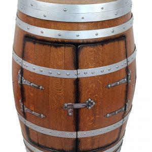 Barek, szafka z dębowej beczki po winie