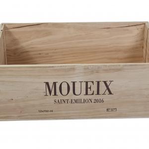 Skrzynka po winie Moueix